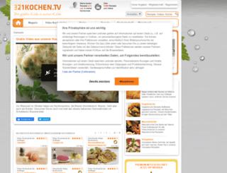 321kochen.tv screenshot