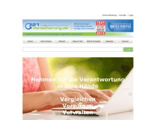 321versicherung.de screenshot