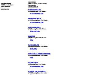 32831.formovietickets.com screenshot