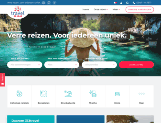 333travelblog.nl screenshot