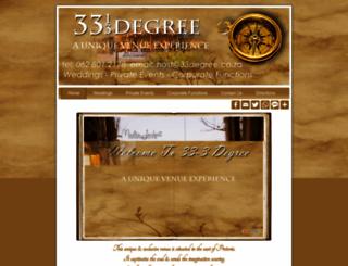 33degree.co.za screenshot