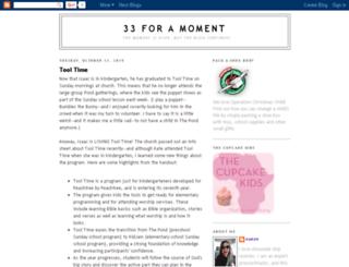 33foramoment.blogspot.com screenshot
