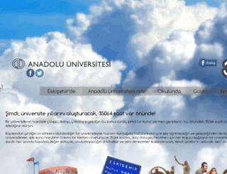 35064saat.anadolu.edu.tr screenshot