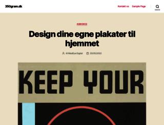 350gram.dk screenshot