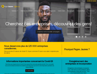 360.pagesjaunes.ca screenshot