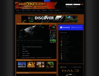 360.xbox-hq.com screenshot