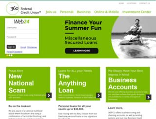 360fcu.org screenshot