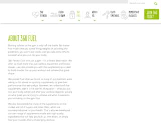 360fuel.com.au screenshot
