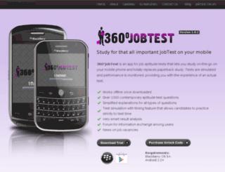 360jobtest.com screenshot