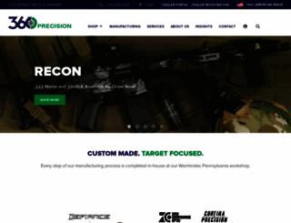 360precision.com screenshot