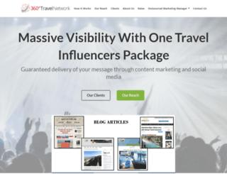 360travelnetwork.com screenshot