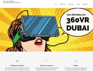 360vrdubai.com screenshot