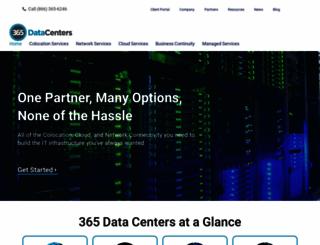 365datacenters.com screenshot