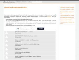 36huissiers.com screenshot