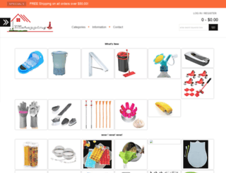 3721shopping.com screenshot