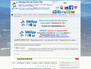 38.snuipp.fr screenshot