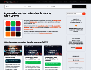 39.agendaculturel.fr screenshot