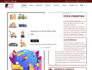 3aslogistics.com screenshot