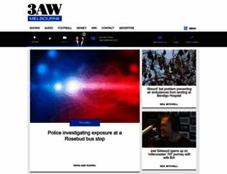 3aw.com.au screenshot