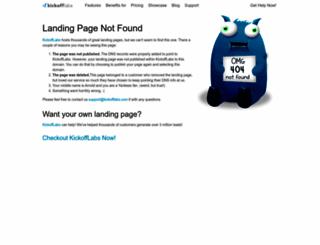 3beerisland.kickoffpages.com screenshot