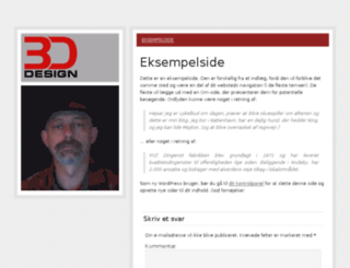 3d-design.dk screenshot