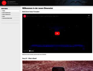 3d-kraft.com screenshot