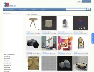 3d-land.net screenshot