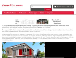 3darchitectsoftware.com screenshot