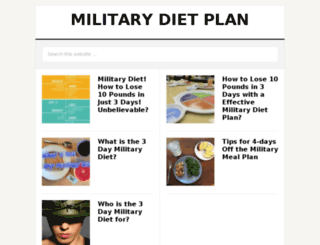 3daymilitarydietguide.com screenshot