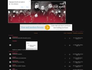 3daysgrace.forumotion.net screenshot