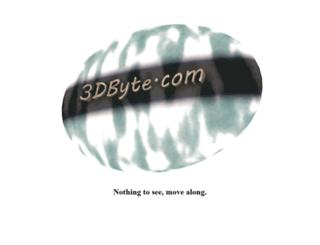 3dbyte.com screenshot