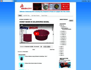 3dcadmodel.blogspot.com screenshot