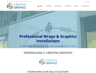 3dcreativegraphics.com screenshot