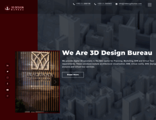 3ddesignbureau.com screenshot