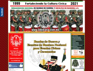 3dediana.com.mx screenshot