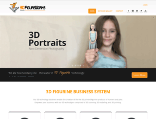 3dfigureworks.com screenshot