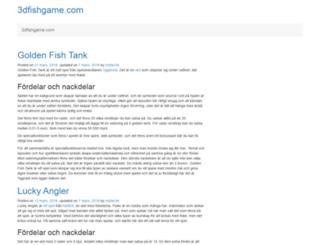 3dfishgame.com screenshot