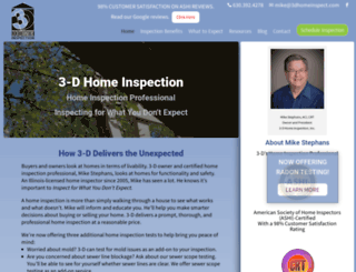 3dhomeinspect.com screenshot