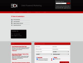 3dinteractive.com.au screenshot