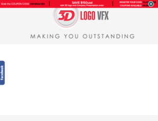 3dlogosbranding.com screenshot