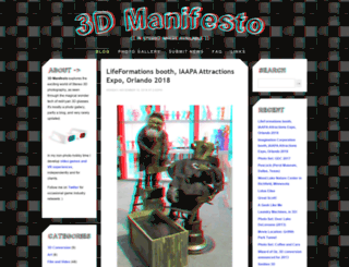 3dmanifesto.com screenshot