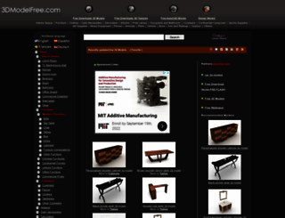 3dmodelfree.com screenshot