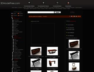 3dmodelfree.com screenshot