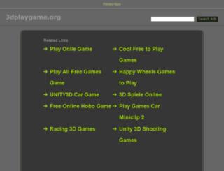 3dplaygame.org screenshot