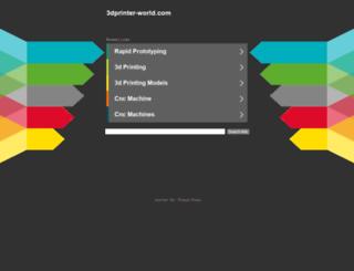 3dprinter-world.com screenshot