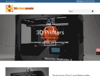 3dprinterpeople.com screenshot