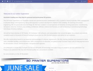 3dprintersuperstore.com.au screenshot