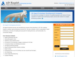 3drapidprototypingservices.com screenshot