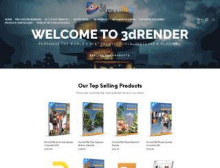 3drender.co.uk screenshot