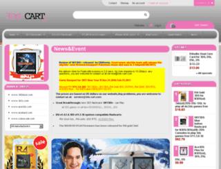 3ds-cart.com screenshot